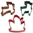 Santa Reindeer Cookie Cutter Set